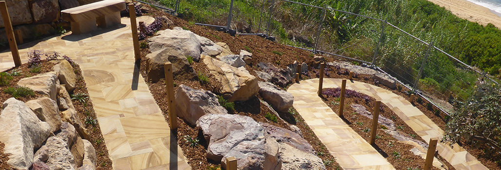 Ripped Retaining Wall Rock/ Feature Landscaping Rocks
